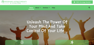 Brisbane Hypnotherapy and Coaching Websites